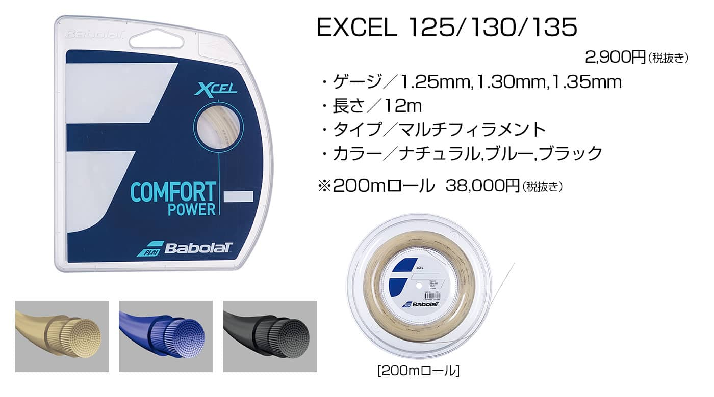 EXCEL 125/130/135